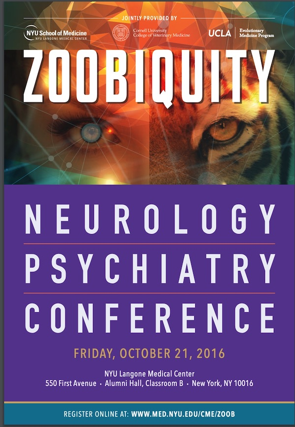 Zoobiquity Neurology and Psychiatry Conference : Barbara